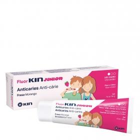 Dentífrico Junior de fresa Fluor Kin 75 ml.