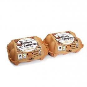 Huevos L-M camperos Granja Villarreal 12 ud