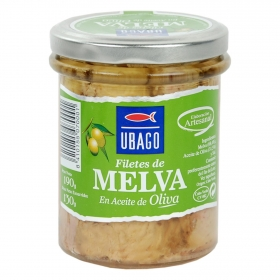 Filetes de melva en aceite de oliva Ubago 130 g.