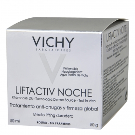 Crema de noche Liftactiv anti-arrugas Vichy 50 ml.
