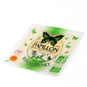 Queso roquefort ecológico D.O.P Papillón cuña 100 g