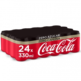 Refresco de cola zero sin cafeína