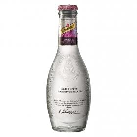 Tónica Schweppes con pimienta rosa premium botella 20 cl.