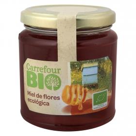 Miel de flores ecológica Carrefour Bio 375 g.