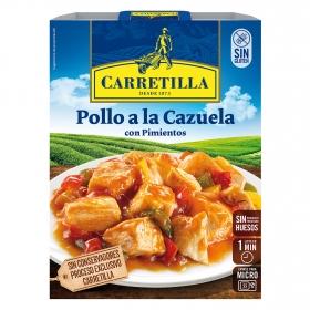 Pollo a la cazuela con pimientos Carretilla 250 g.