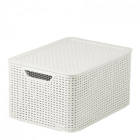 Caja Curver Style 30 l - Blanca