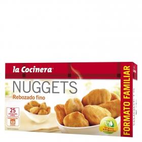 Nuggets de pollo rebozado fino la cocinera