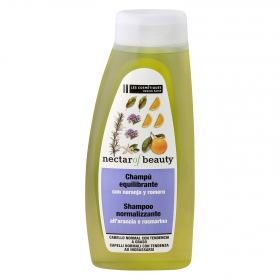Champú Romero para cabello graso Les Cosmétiques -Nectar of Beauty 500 ml.
