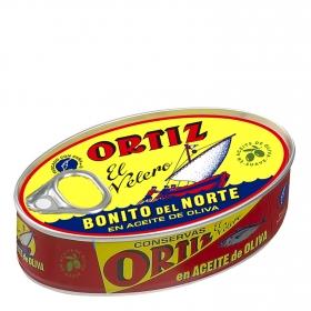Bonito en aceite de oliva Ortiz 85 g.