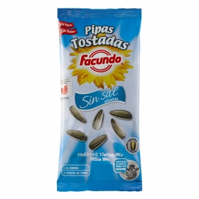 Pipas tostadas sin sal añadida Facundo 100 g.