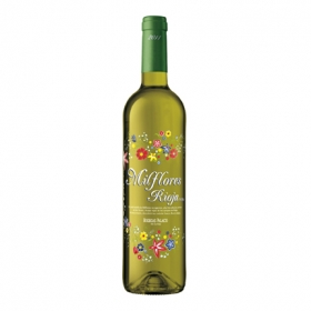 Vino D.O. Rioja blanco Milflores 75 cl.