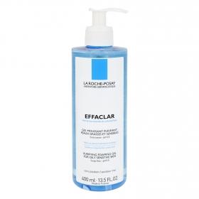 Gel limpiador Effaclar para pieles grasas y sensibles