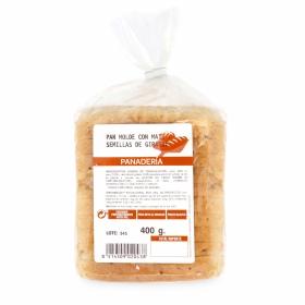 Pan de molde con maiz y semillas de girasol 400 g