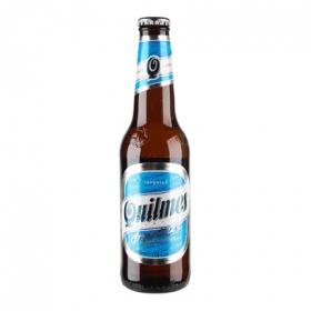 Cerveza Quilmes botella 35,5 cl.
