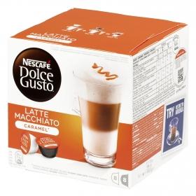Café latte macchiato caramel en cápsulas