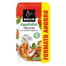Espirales de  tomate y espinacas Gallo 750 g.