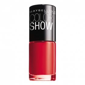 Laca de uñas ColorShow nº 349 power red Maybelline 1 ud.