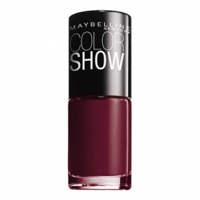 Laca de uñas ColorShow nº 352 downtown red Maybelline 1 ud.