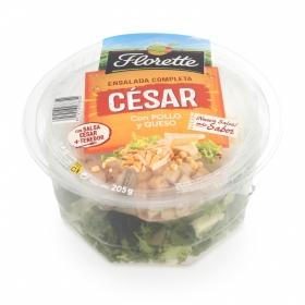 Ensalada César con pollo y queso Florette envase 210 g