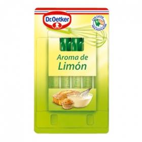 Aroma de limón Dr. Oetker 7,2 g.