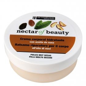 Bálsamo corporal reparador con aceite de nuez para piel muy seca