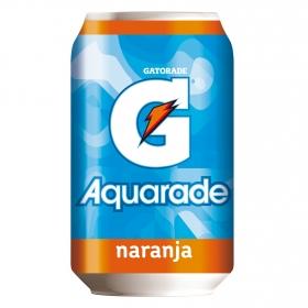 Bebida Isotónica Aquarade sabor naranja lata 33 cl.