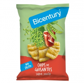 Aperitivo de guisantes sabor jamón Bicentury 55 g.