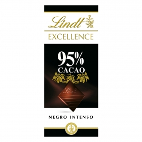 Chocolate negro intenso 95% Lindt Excellence 80 g.