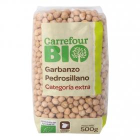 Garbanzo pedrosillano categoría extra ecológico Carrefour Bio 500 g.