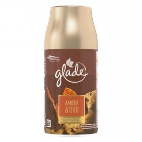 Ambientador automático Amber & Oud recambio Glade 1 ud.