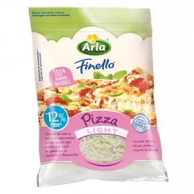 Queso rallado para pizza light Arla 150 g.