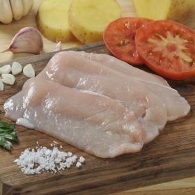 Filetes de Pechuga de pollo Extrafinos