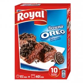 Preparado para brownie Oreo Royal 375 g.