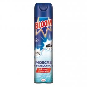 Insecticida moscas y mosquitos efecto instantáneo Bloom 600 ml.