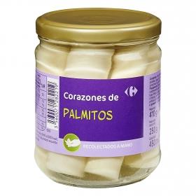 Corazones de palmitos Carrefour 250 g.
