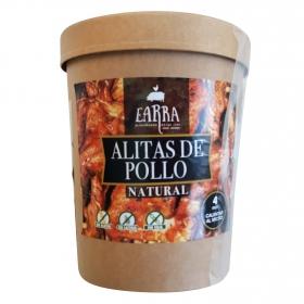 Alitas de pollo al natural Earra sin gluten y sin lactosa 500 g.
