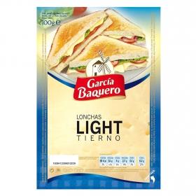 Lonchas de queso tierno light García Baquero 100 g.