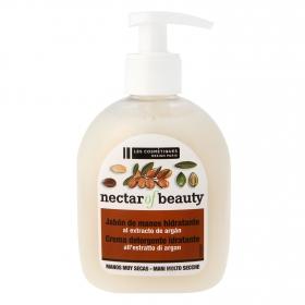Jabón crema hidratante con aceite de argán