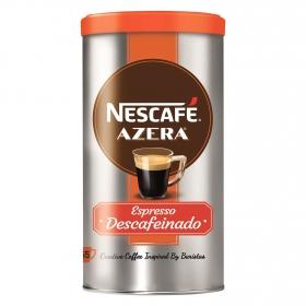 Café soluble mezcla descafeinado Azera