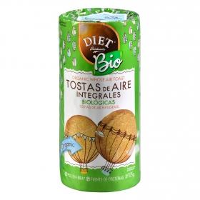 Tostas de aire integrales ecológicas Diet Radisson 125 g.