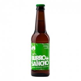 Cerveza artesana Burro de Sancho rubia botella 33 cl.