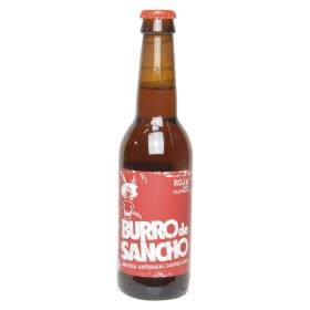 Cerveza artesanal roja ale filtrada