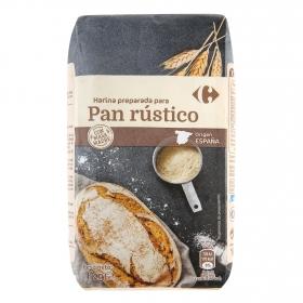 Harina para pan rústico Carrefour 1 kg.