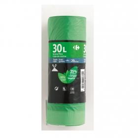 Bolsas Basura Perfumada 30 Litros Verde