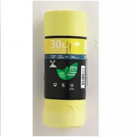 Bolsas Basura Envases 30 Litros Amarillo