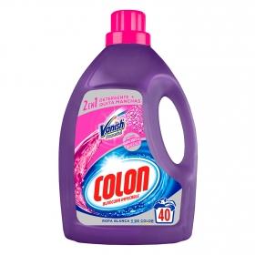 Detergente Líquido 2 en 1 Vanish Colon 40 lavados.