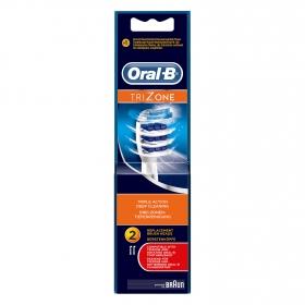 Cepillo dental eléctrico Vitality Trizone recambio Oral-B 2 ud.