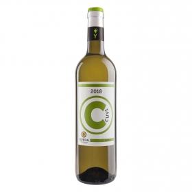 Vino D.O. Rueda blanco verdejo Cuvi 75 cl.
