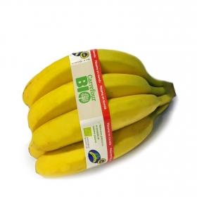 Platano encintado Carrefour Bio 1 kg aprox