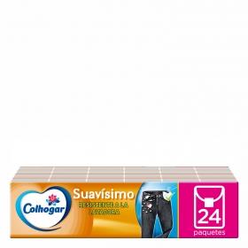 Pañuelos compact resistente a la lavadora Colhogar 24 ud.